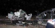 Manisa'da dehşet verici kaza