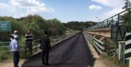 Regülatör köprüsüne asfalt yapıldı