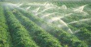 Tarımsal sulamaya destek geldi