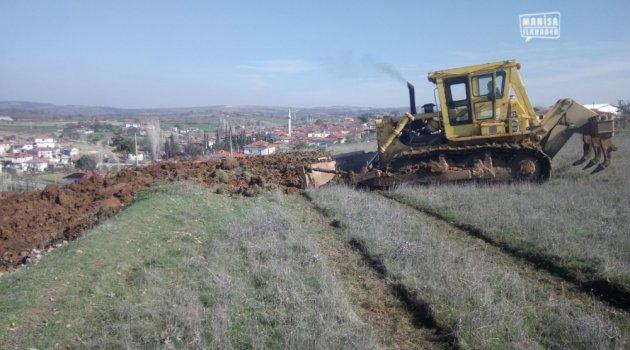 Yeni Mezarlık Alanı İçin Çalışma Başladı