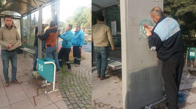 ZABITADAN AFİŞ OPERASYONU